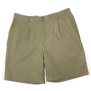 Under Armour Brown Khaki athletic golf shorts